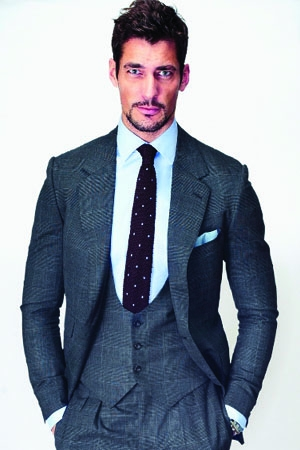 David Gandy in conversation with Hilary Alexander