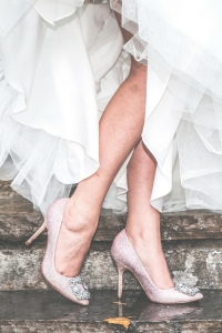 The Biggest Shoe Trends for Brides Right Now