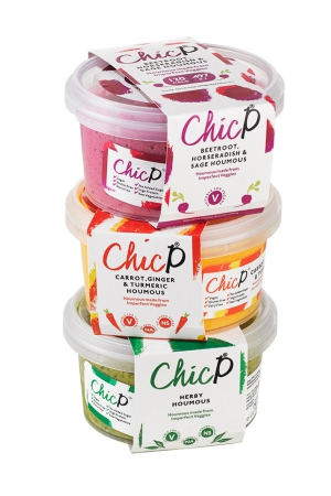 ChicP: Houmous Made From Raw Imperfect Veggies