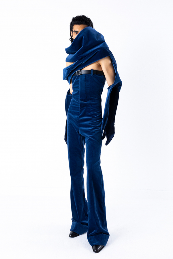Arturo Obegero AW21 'A tale of drama and emotions'