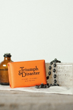 Triumph & Disaster launches A+R Soap
