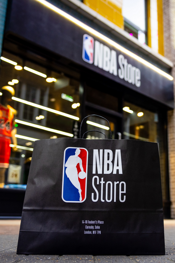 The First NBA Store in the UK has opened