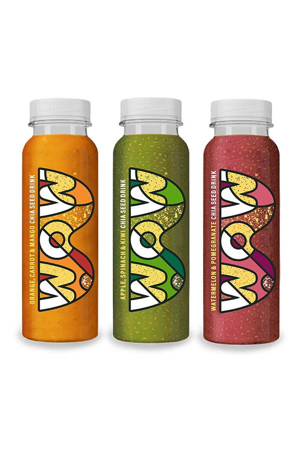 WOW Chia Seed Drink: A juice that goes against the grain