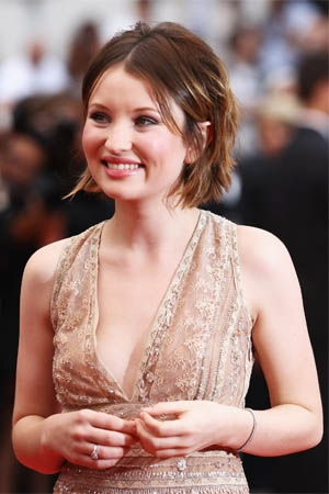 Emily Browning At Cannes Festival Film