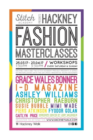 Hackney Fashion Masterclass