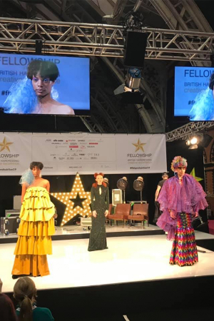 Fashions Finest Designers On Stage At HairPro Live