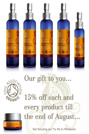15% Off Natural Wisdom Organic Skincare