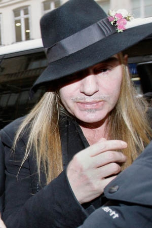Galliano Heckled At LAX