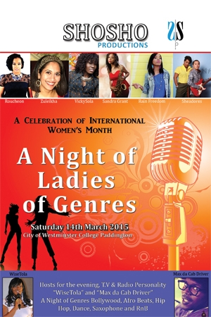 A Night of Ladies of Genres