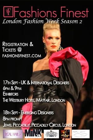 Fashions Finest Fashion Week  Show Schedule