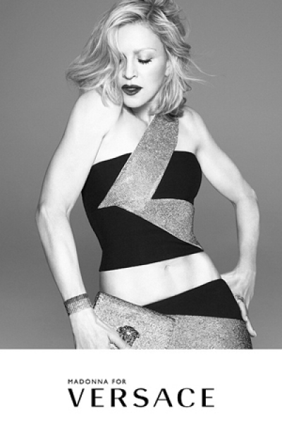Versace announces Madonna as the face of its SS15 campaign