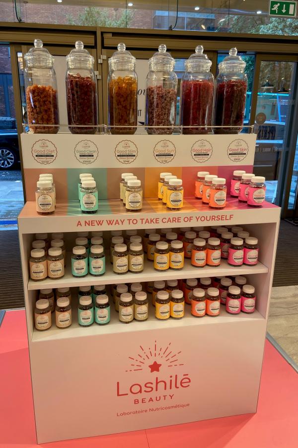 Lashilé's Pop-up Beauty Supplement Gummy Bar Launches