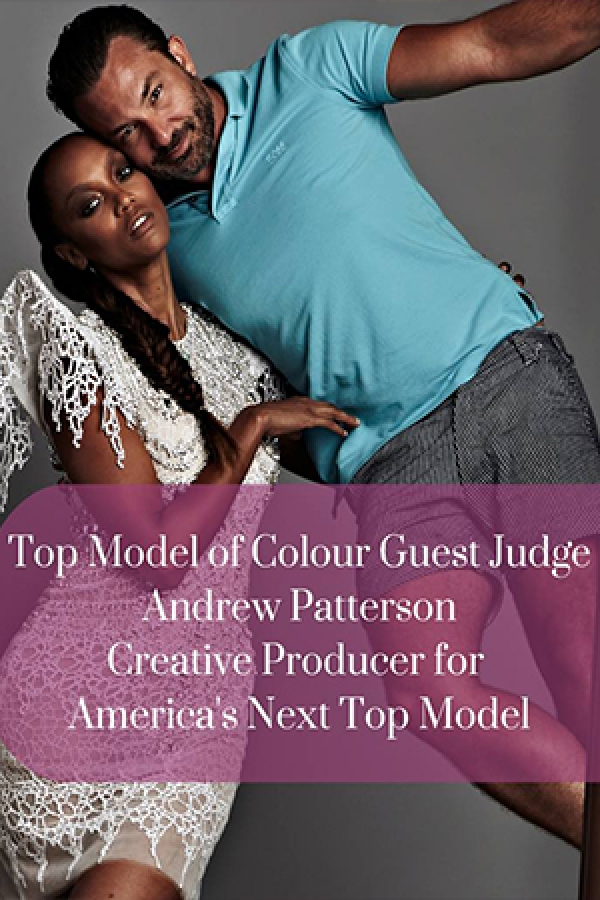 Andrew Patterson Announced as Top Model of Colour Judge!