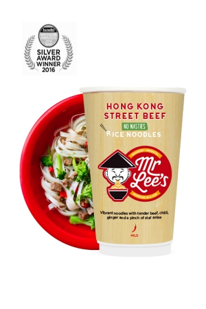 Mr Lee's Noodles to partner their guilt free, gourmet meals with Fashions Finest
