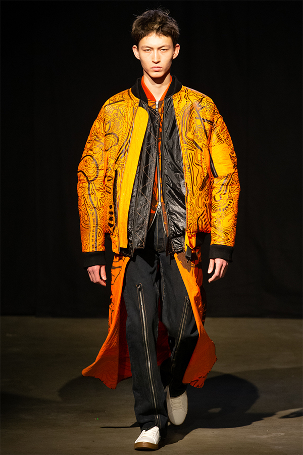 University Of Westminster MA Menswear S/S20