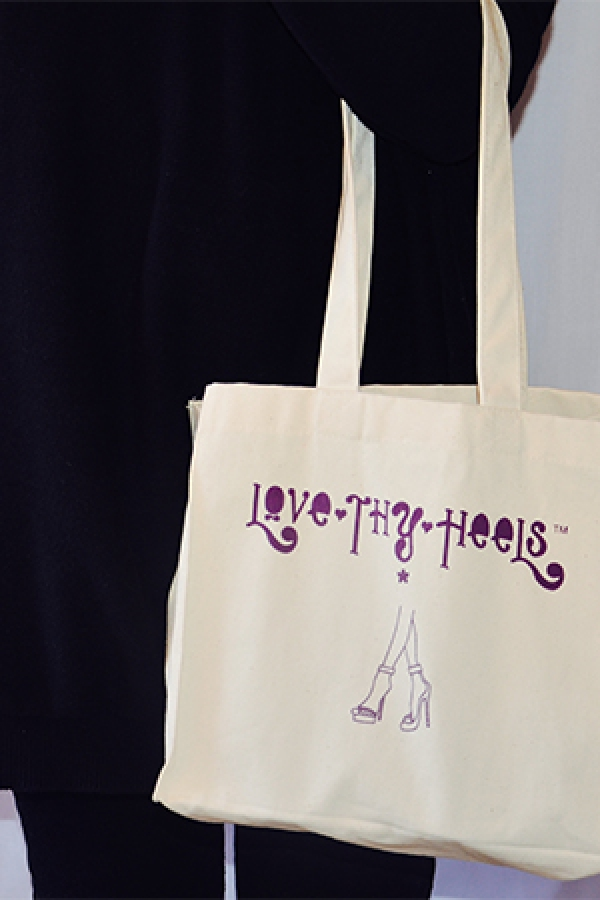 Carry your heels in style with The Love Thy Heels bag