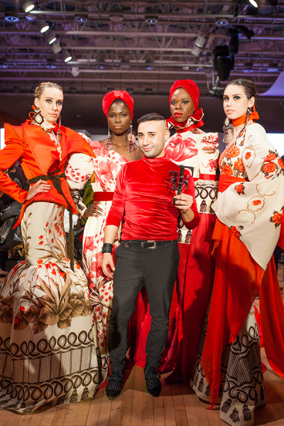 Britain's Top Designer S7 winner Tuncer Tonun