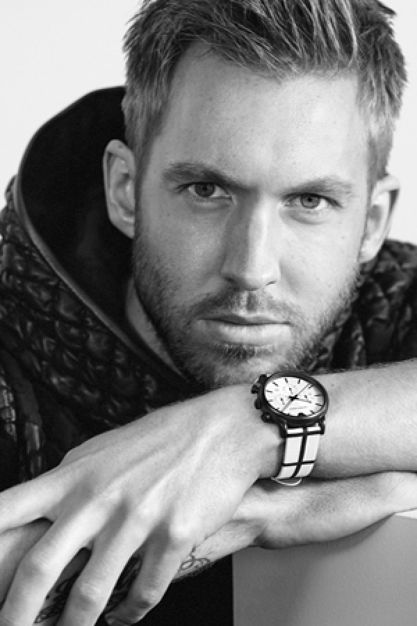 Calvin harris - the new face of emporio armani