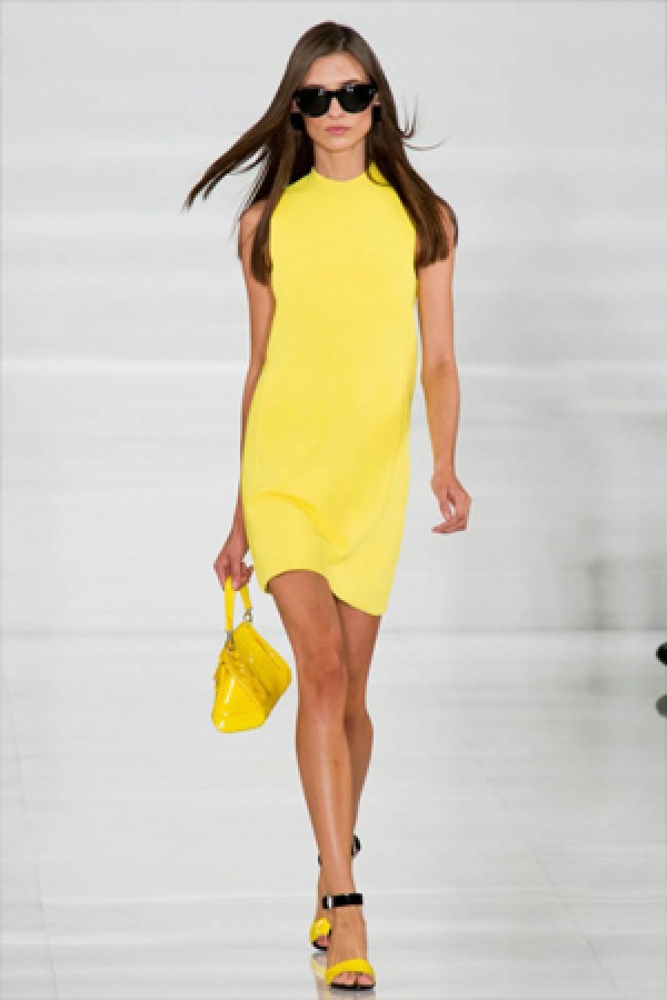 Summer trend: Yellow