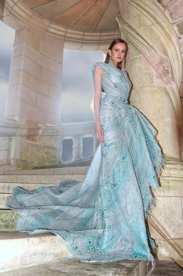 Ziad Nakad's 'Renaissance', A/W 2021 haute couture collection